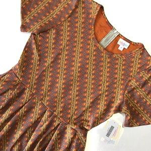 NWT LuLaRoe Amelia Pocket Dress